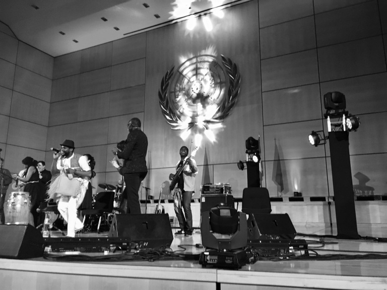 Konzert in der Assembly Hall