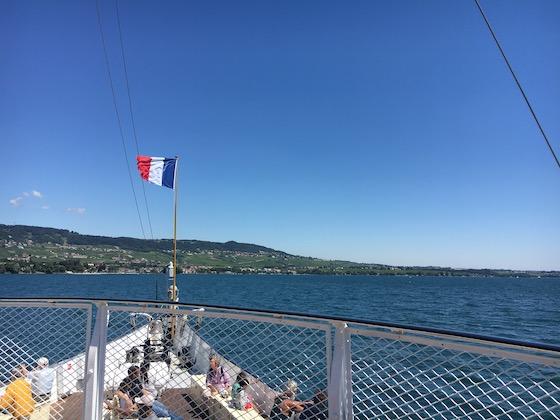 Schifffahrt auf dem Genfer See