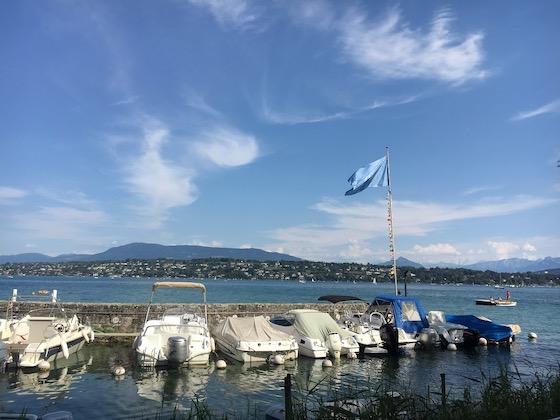 UN-Beachclub in Genf