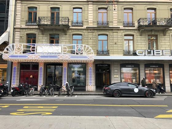 Dior-Geschäft in Genf