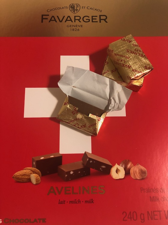 Schokolade aus Genf