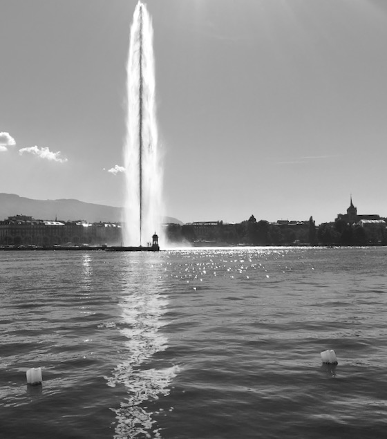Jet d' Eau Genf