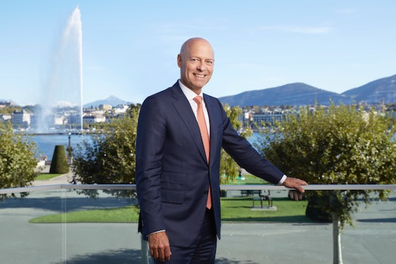 Lars Wagner, General-Manager vom Hotel Beau-Rivage, Genf